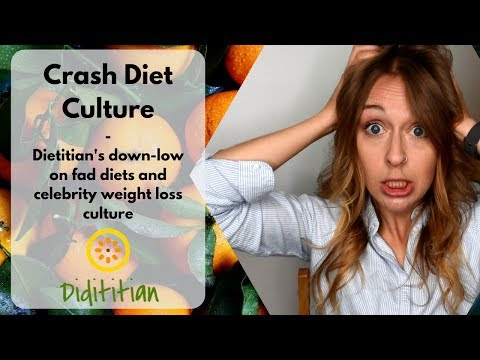 The Facts And Myths About Fad Diets A Dietitian S Perspective On Crash Diets And Celebrity Weight Loss Culture